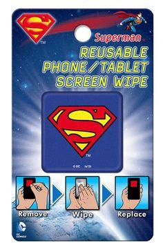 DC Comics Superman Screen Wipe