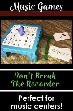 """This is a super fun (yet truly educational!) game based on the popular game, """"Don't Break the Ice!"""" In this game, students must identify note names with the alto clef and hope they don't cause all the ice to fall! This is perfect for music centers or mus Music Activities, Music Games, Movement Activities, Piano Games, Babysitting Activities, Preschool Music, Music Music, Music Stuff, Elementary Music Lessons"""