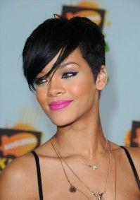 Rihanna eye makeup style...