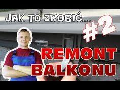 Remont balkonu #2 - Profil okapowy, izolacja, układanie płytek, cokoły - YouTube Calm, Youtube, Balcony, Youtubers, Youtube Movies