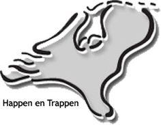 Happen en Trappen, de lekkerste fietstochten van heel Nederland. BV: In het spoor van de Nassaus - 48 km.