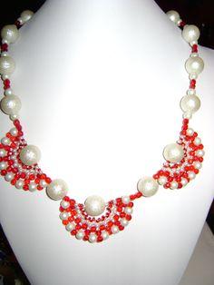 rosita dunkl Beaded Necklace, Jewelry, Beaded Collar, Jewlery, Pearl Necklace, Jewels, Beaded Necklaces, Jewerly, Jewelery