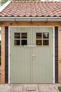 Carport Garage, Garage Doors, Farm Store, Garage Remodel, Garden Buildings, Round House, Outdoor Living, Outdoor Decor, House Front