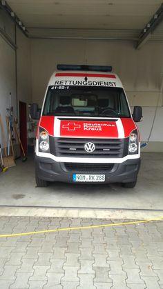 KTW Krankenwagen Hauptamt Rettungsdienst