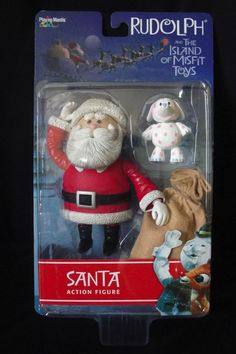 Santa With Toy Bag Action Figure Rudolph & The Island Misfit Toys Playing Mantis #PlayingMantis
