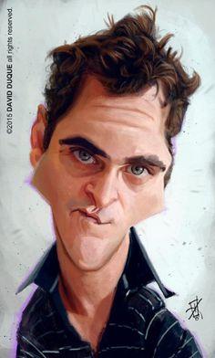 Joaquin Phoenix - artist: David Duque