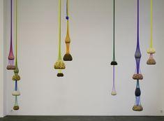 Variation on Color Seed Space Time Love (2009) by Ernesto Neto, via Bob van Orsouw