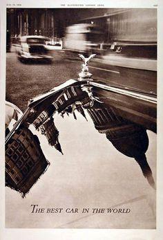 Rolls-Royce Ad.