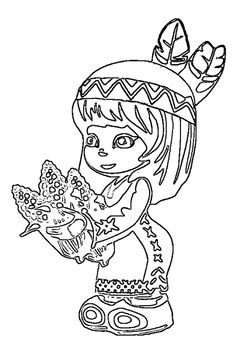 horse totem pole coloring pages - photo#48
