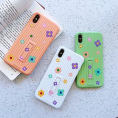 Cute simple floral Crossbody silicone phone case for new iphone XS MAX case for iphone X XR 6 7 8 plus chain Holder cover Outfit Accessories From Touchy Style. Iphone 7 Phone Cases, Best Iphone, Apple Iphone 6, Iphone Case Covers, Cute Cases, Cute Phone Cases, Dyi, Silicone Phone Case, Galaxy S3