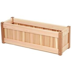 Shop All Things Cedar Window Box at Lowe's Canada. Find our selection of pots & planters at the lowest price guaranteed with price match. Cedar Window Boxes, Cedar Planter Box, Garden Planter Boxes, Patio Planters, Window Planter Boxes, Wooden Planters, Long Planter, Raised Planter, Red Cedar Wood