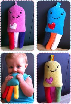 cute things or gifts that you can make for a baby DIY - do it yourself - 60 simple; cute things or gifts you can make for a baby DIY - Handmade Baby Gifts, Handmade Toys, Diy Gifts, Sewing Toys, Baby Sewing, Sew Baby, Sewing For Kids, Diy For Kids, Do It Yourself Baby