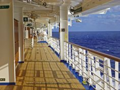 Ruby Princess Cruise deck | Ruby Princess: One Last Look | It's About Travelling