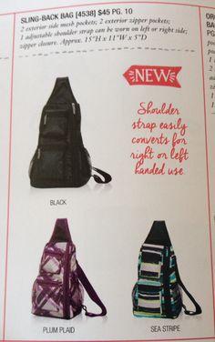 Sling back bag! New fall 2014 mythirtyone.com/466132