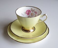 Yellow addition teacup