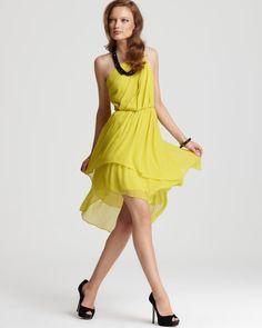 yellow bridesmaid dress ;)