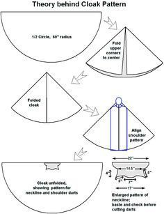 how to make a medieval cloak - Google Search