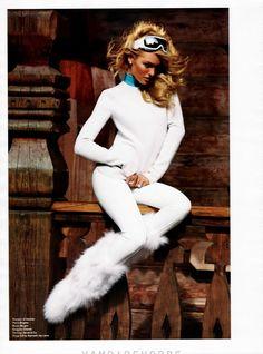 Candice Swanepoel for V Magazine