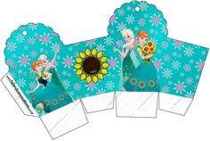 Frozen Fever: Free Printable Boxes.