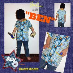 JoLou: BEN von Bunte Knete - die Benta für den coolen Jungen