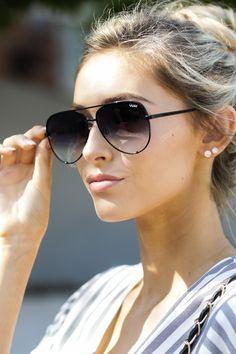 a5fea3f97456c Chic Black Fade Sunglasses - Black Aviators - Sunglasses -  65.00 – Red  Dress Boutique Quay