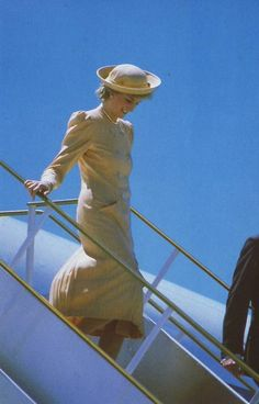 Princess Diana     Australia Oct 1985