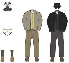 The Wardrobe of Walter White, Every Outfit He Wore in Seasons 1-5 of 'Breaking Bad' http://azpitituluak.com/euskaraz/1316193388