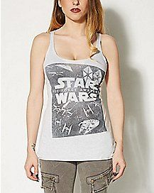 Star Wars The Force Awakens Tank Top