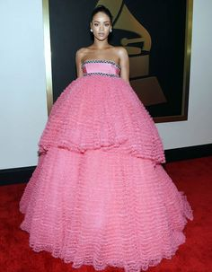 Rihanna Red Carpet Looks at the Grammy Awards 2015