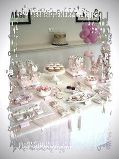 Candy buffet rosa