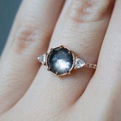 Smokey grey Montana sapphire