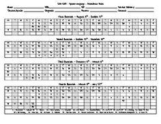Attendance Calendar | Excel Templates