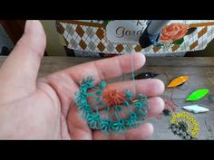 TEK MEKİK İLE HAVLU KENARI YADA NAMAZ ÖRTÜSÜ İCİN MOTİF - YouTube Tatting Jewelry, Tatting Patterns, Doilies, Needlework, Crochet Earrings, Stitch, Beads, Friends, Youtube
