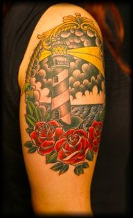 American Traditional Tattoo by James Vaughn