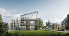 Zaha Hadid Architects unveil plans for spectacular Eco Park in England