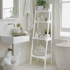 Bathroom Ladder Shelf | The White Company