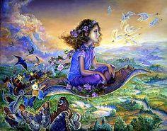 Peintures féeriques de : Joséphine WALL                                                                                                                                                                                 Plus