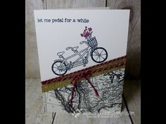 Stamp & Scrap with Frenchie: Stamp on the Go Pedal Pusher