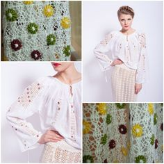 Silk seduction<3 #romanianblouse #lablouseroumaine #embroideredblouse Cool Outfits, Amazing Outfits, Embroidered Blouse, Popular, Silk, Long Sleeve, Sleeves, Label, Blouses