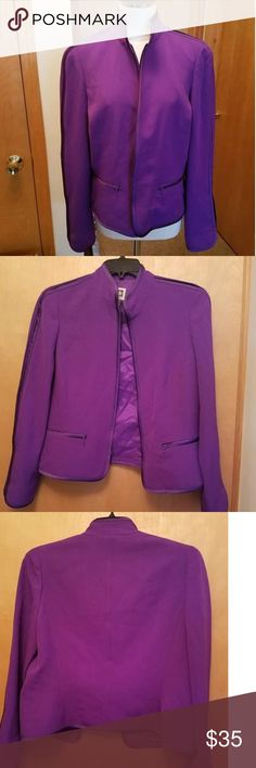 0a206a9c5e53 Anne Klein Sz 14 Purple Blazer Gorgeous and Stylist Purple Blazer. 14  Misses. Great