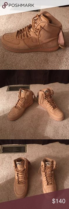 quality design 99cf9 01c84 Nike Air Force 1 High Wheat Brand New. Never Worn. Size 10. In