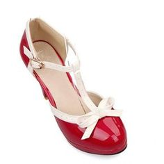cb4c221e9ae Retro Style Color Block and Bowknot Design Chunky Heel Sandals For Women USD