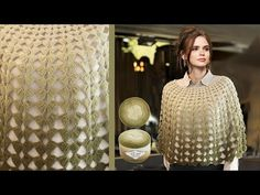 Crochet Capelet Pattern, Knitting, Youtube, Collection, Women, Knitting And Crocheting, Ponchos, Shawl, Manualidades