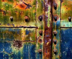 Don Taylor - rusted texture Flickr