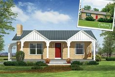 Illustration: Howard Digital | thisoldhouse.com | from Photoshop Redo: How to Rework a Ranch