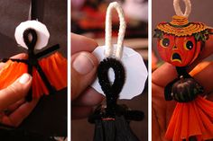 How-To Tuesday Halloween pipe cleaner friends - My Paper Crane