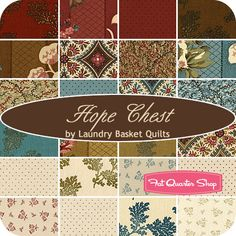 Hope Chest Prints Layer Cake Laundry Basket Quilts for Moda Fabrics - Fat Quarter Shop