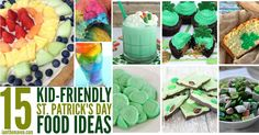 Try these kid friendly St. Patrick's Day Food Ideas!