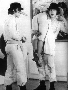 """A Clockwork Orange"" (1971) Stanley Kubrick"
