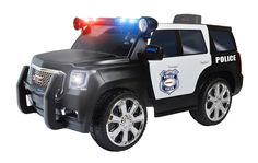 Kid's Police Ride On Toy Battery Operated Power Wheels Riding Electric Car Suv Cool Toys For Boys, Toy Cars For Kids, Police Truck, Police Cars, Police Station, Kids Power Wheels, Kids Police, Kids Sites, Barbie Sets